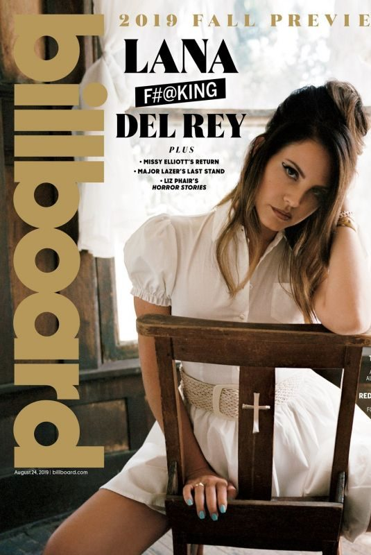 LANA DEL REY in Billboard Magazine, August 2019