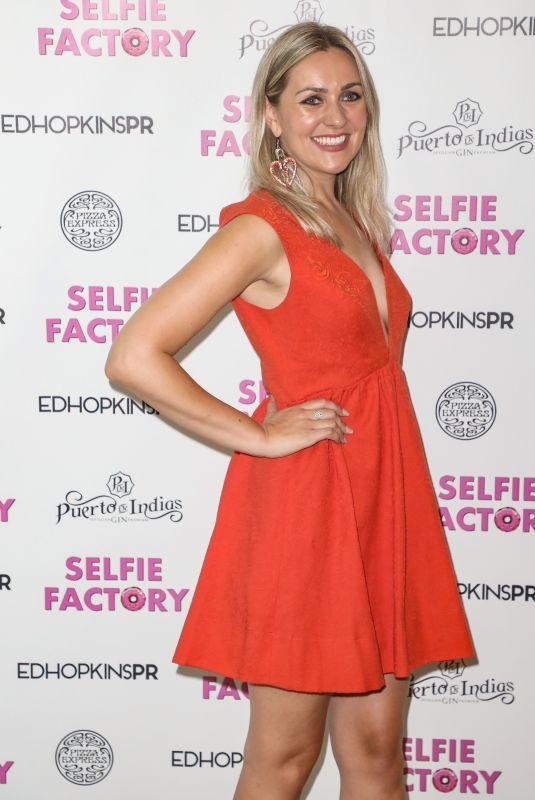 LARISSA EDDIE at Media Night at Selfie Factory in London 07/31/2019