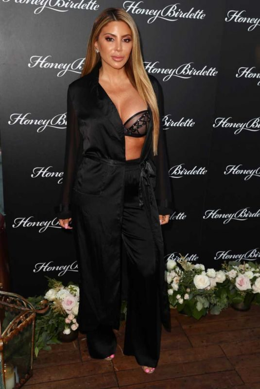 LARSA PIPPEN at Honey Birdette Bodyguard Collection Launch Party in Hollywood 08/01/2019