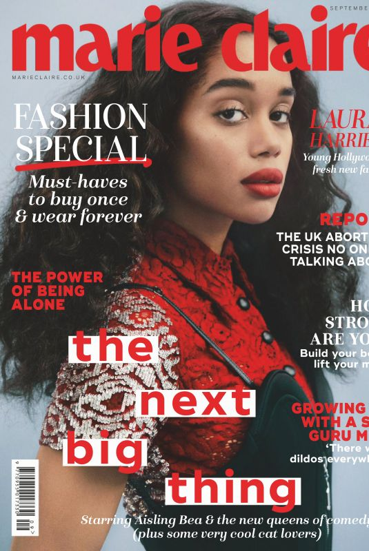 LAURA HARIER in Marie Claire Magazine, UK September 2019