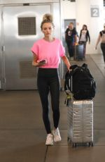 LAUREN BUSHNELL at ALX Airport in Los Angeles 08/03/2019