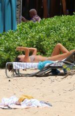 LEA MICHELE in Bikini at a Beach in Hawaii 08/07/2019