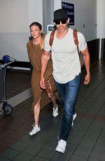 LEANN RIMES at Los Angeles International Airport 08/18/2019