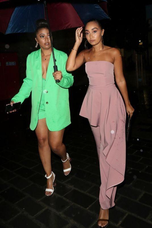 LEIGH-ANNE PINNOCK at Duo Nightclub in London 08/16/2019