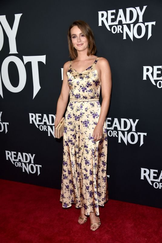 LEIGHTON MEESTER at Ready or Not Screening at Arclight in Culver City 08/19/2019