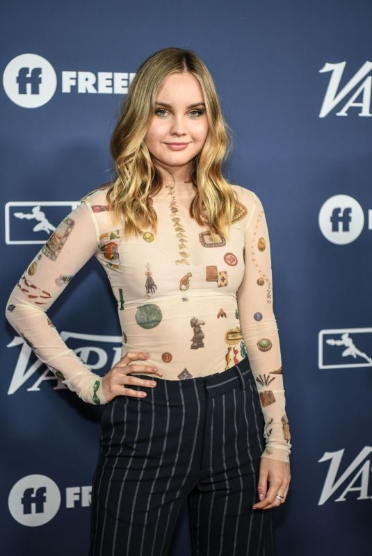 LIANA LIBERATO at Variety's Power of Young Hollywood in Los Angeles 08/06/2019