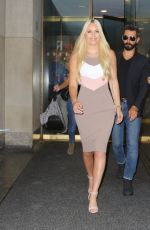 LINDSEY VONN Leaves Today Show in New York 08/19/2019