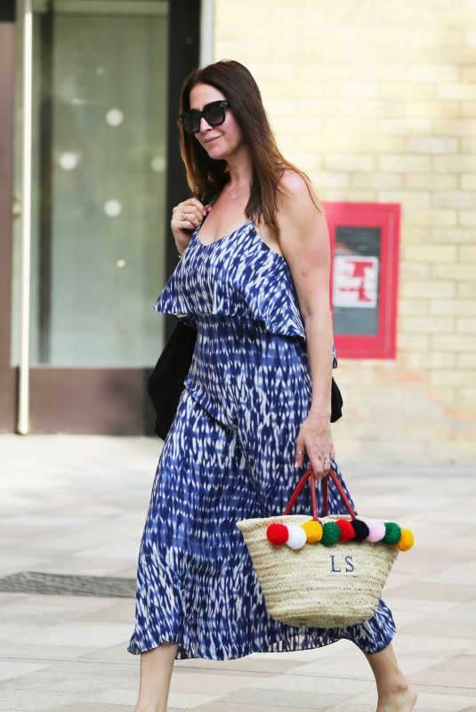 LISA SNOWDON Leaves ITV Studios in London 08/27/2019
