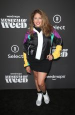 LIZZA MONET MORALES at Weedmaps Museum of Weed Exclusive Preview Celebration in Hollywood 08/01/2019