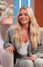 LOUISA JOHNSON at Lorraine Show in London 08/14/2019