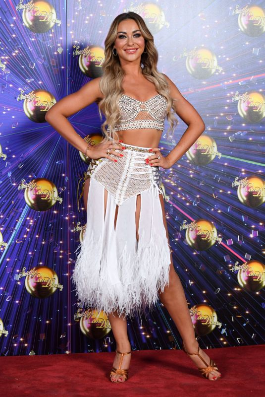 LUBA MUSHTUK at Strictly Come Dancing Launch in London 08/26/2019