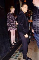 LUCY BOYNTON and Rami Malek at Century Club in London 08/28/2019