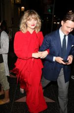 MADDIE HASSON and Julian Brink Night Out in Hollywood 08/05/2019