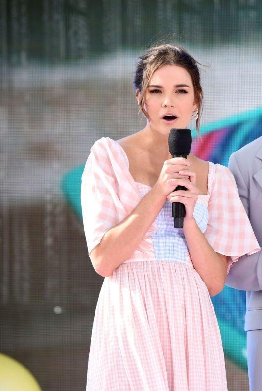MAIA MITCHELL and KJ Apa at Teen Choice Awards 2019 in Hermosa Beach 08/11/2019