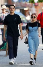 MAISIE WILLIAMS and Reuben Selby Out in New York 08/29/2019