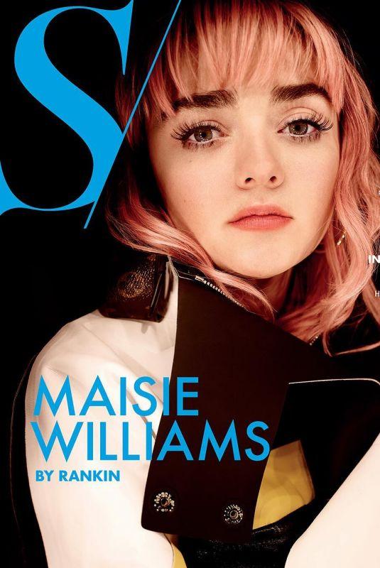 MAISIE WILLIAMS in S Magazine, Spring 2019