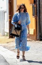 MANDY MOORE at Nine Zero One Hair Salon in West Hollywood 08/12/2019