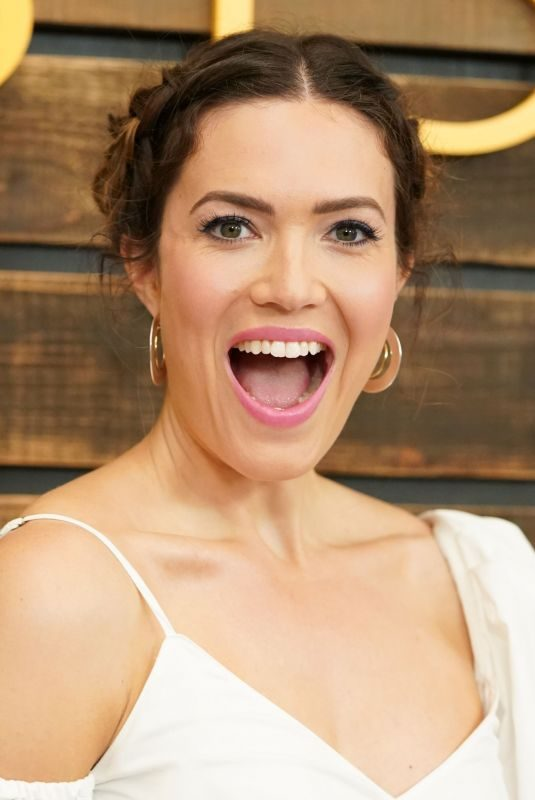 MANDY MOORE at This Is Us Pancakes with the Pearsons in West Hollywood 08/10/2019
