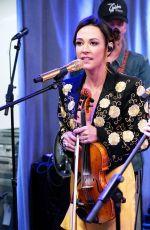 MAREN MORRIS Performs at SiriusXM Studios in New York 07/31/2019