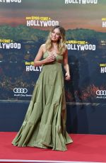 MARGOT ROBBIE at Once Upon A Time in Hollywood Premiere in Berlin 08/01/2019
