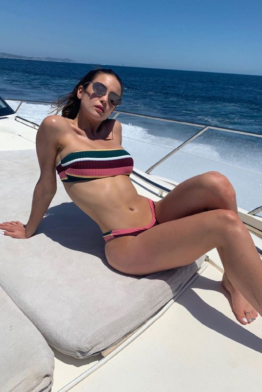 MARIA PEDRAZA in Bikini - Instagram Photos, August 2019