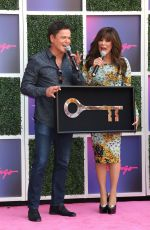 MARIE and Donny OSMOND Receive Keys to the Las Vegas Strip at Flamingo Las Vegas Hotel & Casino 08/23/2019