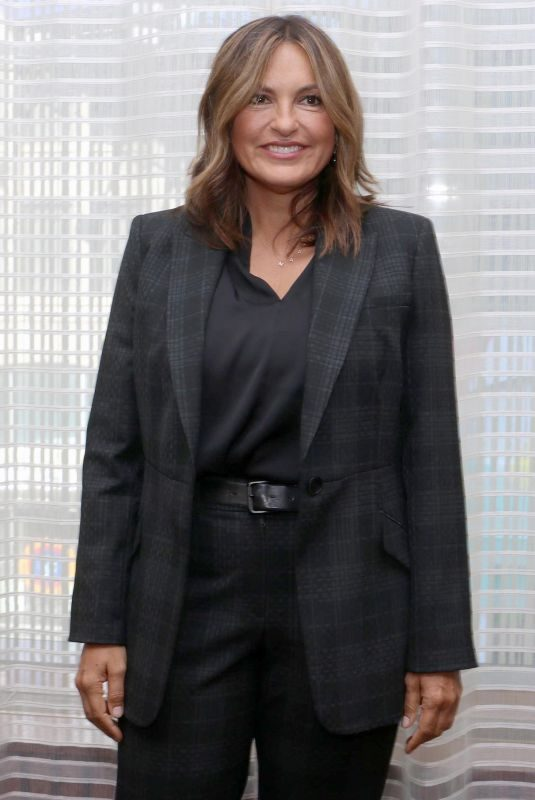 MARISKA HARGITAY at Law & Order: Special Victims Unit Press Conference in New York 08/12/2019