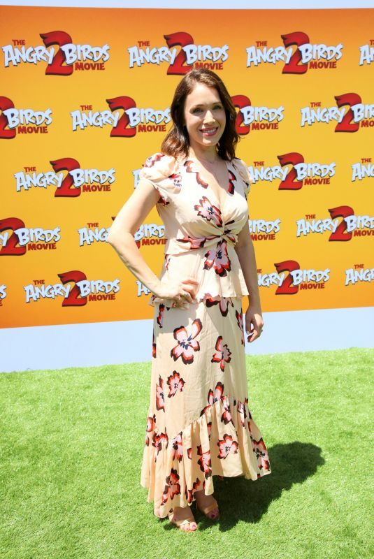 MARLA SOKOLOFF at The Angry Birds Movie 2 Premiere in Los Angeles 08/10/2019