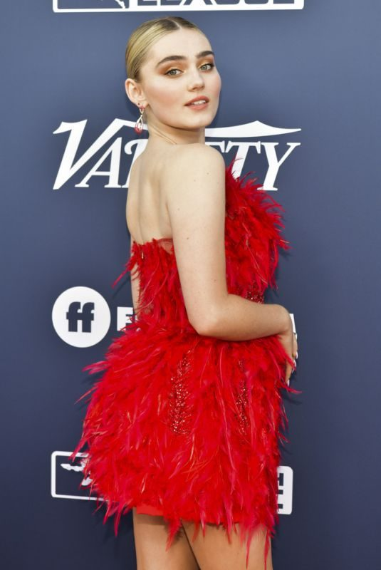 MEG DONNELLY at Variety's Power of Young Hollywood in Los Angeles 08/06/2019