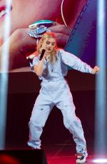 MEG DONNELLY Performs at D23 Expo in Anaheim 08/25/2019