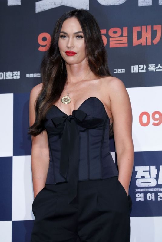MEGAN FOX at Battle of Jangsari Press Conference in Seoul 08/21/2019