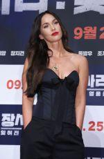 MEGAN FOX at Battle of Jangsari Press Conference in Seoul 08/21/2019