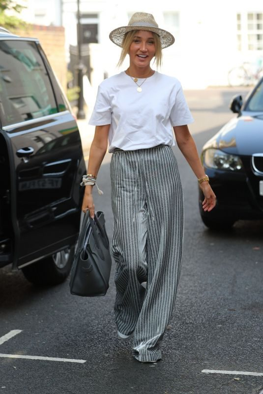 MEGAN MCKENNA Out and About in London 08/27/2019