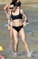 MELANIE CHISHOLM in Bikini at a Beach in Mykonos 08/24/2019