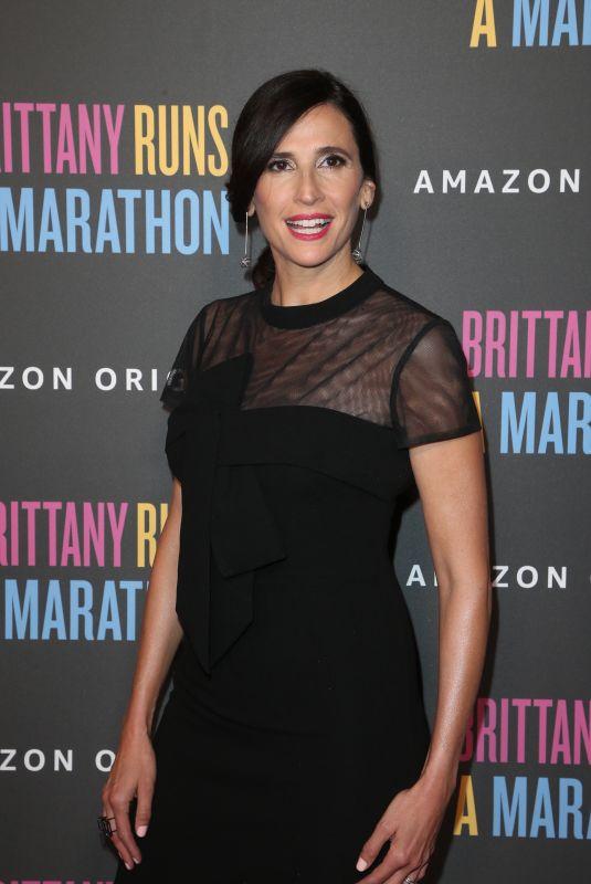 MICHAELA WATKINS at Brittany Runs A Marathon Premiere in Los Angeles 08/15/2019