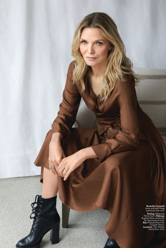 MICHELLE PFEIFFER in Instyle Magazine, Septemeber 2019