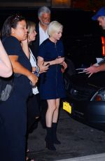 MICHELLE WILLIAMS Night Out in New York 08/05/2019
