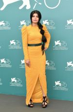 MILA AL ZAHRANI at The Perfect Candidate Photocall at 76th Venice Film Festival 08/29/2019