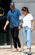 MILA KUNIS and Ashton Kutcher Out in Los Angeles 08/12/2019