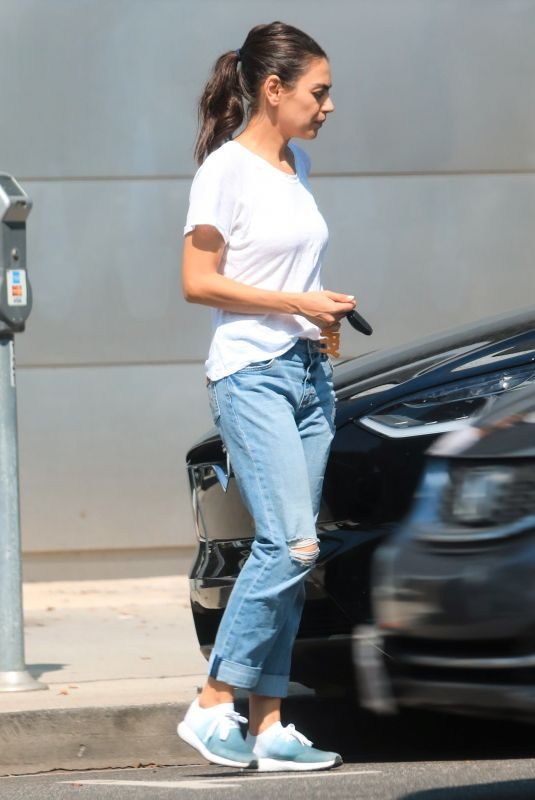 MILA KUNIS in Denim Out in Los Angeles 08/12/2019