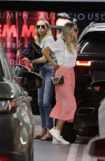 MILEY and TISH CYRUS Out and About in Los Angeles 08/17/2019