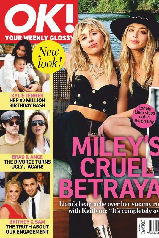 MILEY CYRUS in OK! Magazine, Australia August 2019