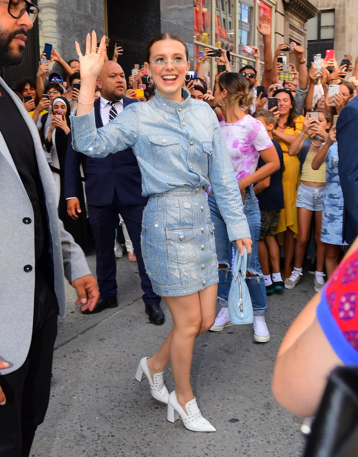 Permalink to Millie Bobby Brown Leaves Her Pop Up Store Florence By Mills In New York