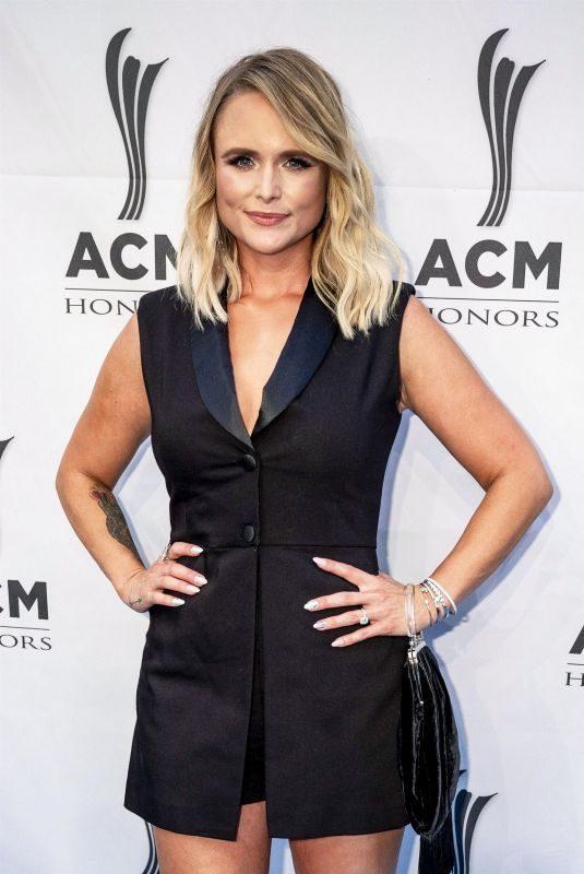 MIRANDA LAMBERT at 13th Annual ACM Honors Ryman Auditorium in Nashville 08/21/2019