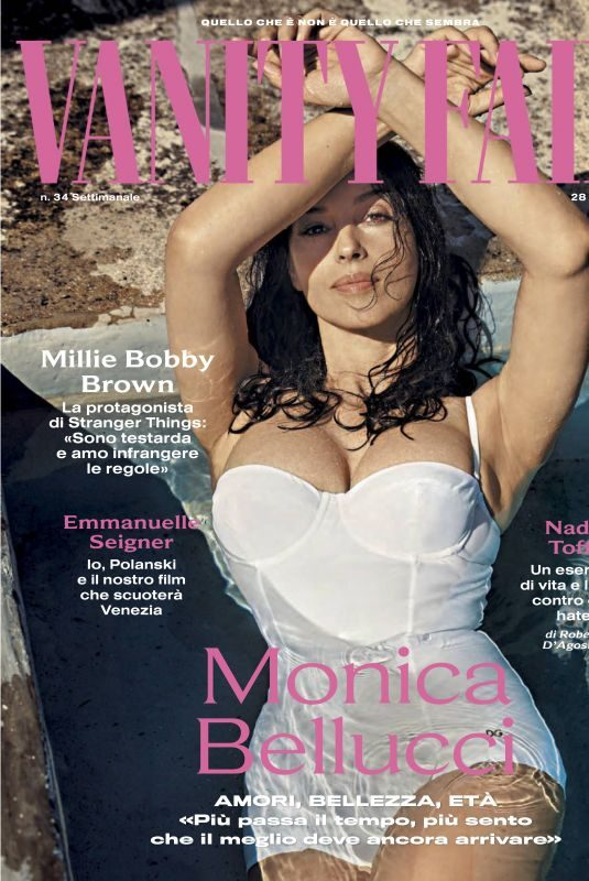 MONICA BELLUCCI in Vanity Fair Magazine, Italy August 2019