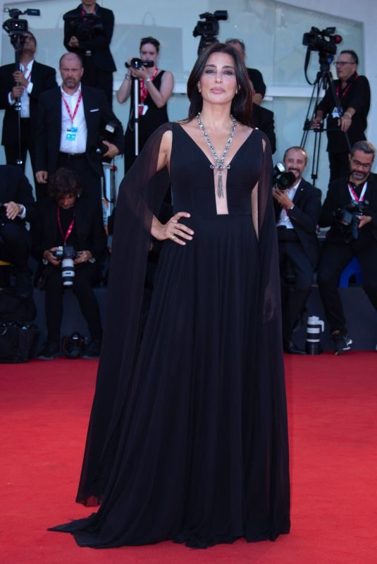 NADINE LABAKI at J'Accuse (An Officer and a Spy) Premiere at 76th Venice Internatinal Film Festival 08/30/2019