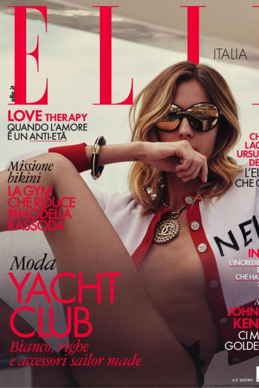 NADJA BENDER in Elle Magazine, Italy July 2019