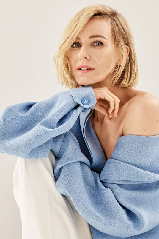 NAOMI WATTS for The Edit by Net-a-porter, August 2019