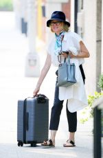 NAOMI WATTS Leaves Her Home in New York 07/29/2019