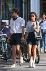 NATALIA DYER and Charlie Heaton Out in New York 08/21/2019